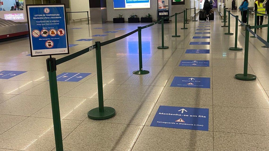 Aeroporto do Porto entre os melhores da Europa que  adotaram medidas de higienização face à Covid-19