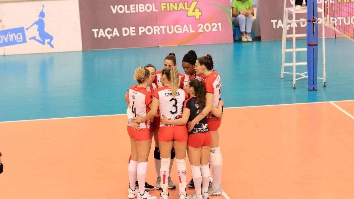 Voleibol: Sereias conquistam Taça de Portugal em Matosinhos