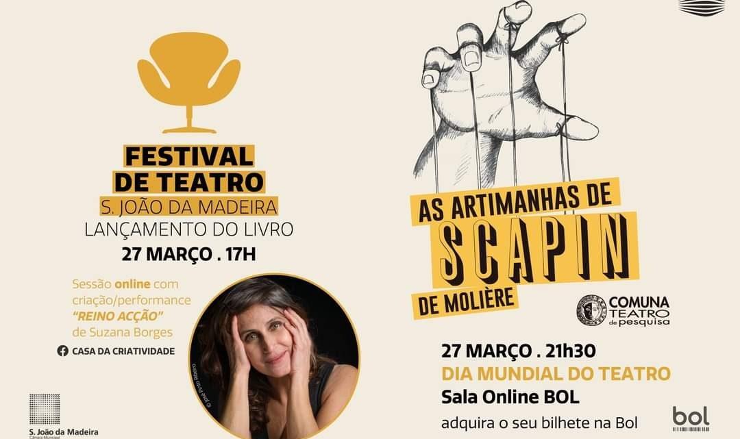 Municipio de S. João da Madeira lança livro sobre o festival de teatro da cidade
