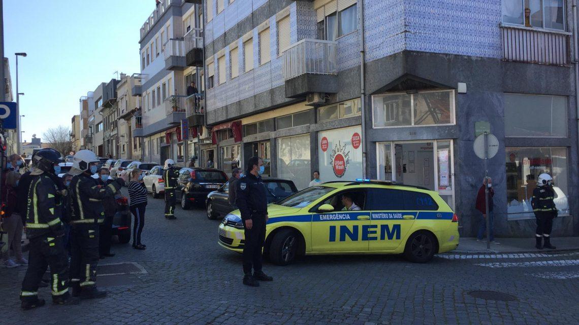 Queda de muro numa obra da cidade do Porto provoca dois feridos