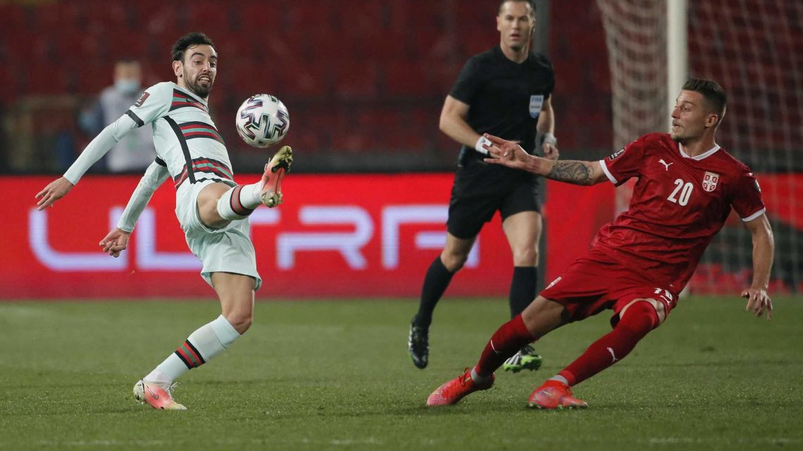 Árbitro tira vitória a Portugal na Sérvia