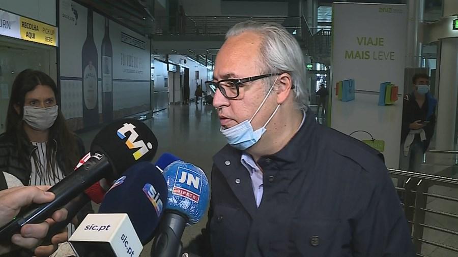 João Loureiro regressa ao Porto após polémica com avião da droga no Brasil