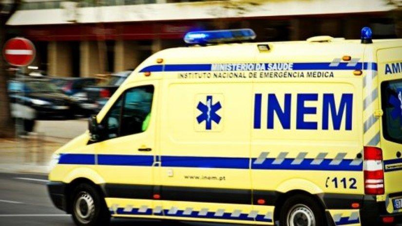 Atropelamento em Santa Maria da Feira provoca duas vítimas mortais