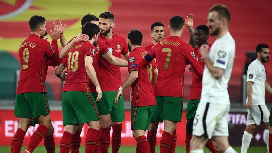 Portugal vence Azerbeijão no arranque do apuramento para Mundial do Qatar