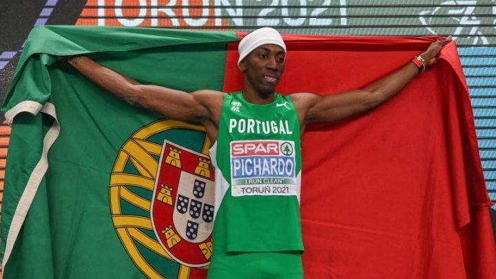 Pedro Picharro conquista medalha de Ouro nos Europeus de pista coberta