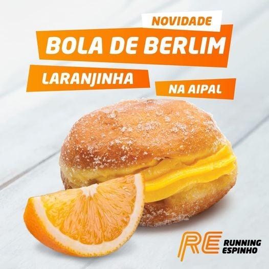 Running Espinho e Aipal criam a Bola de Berlim Laranjinha