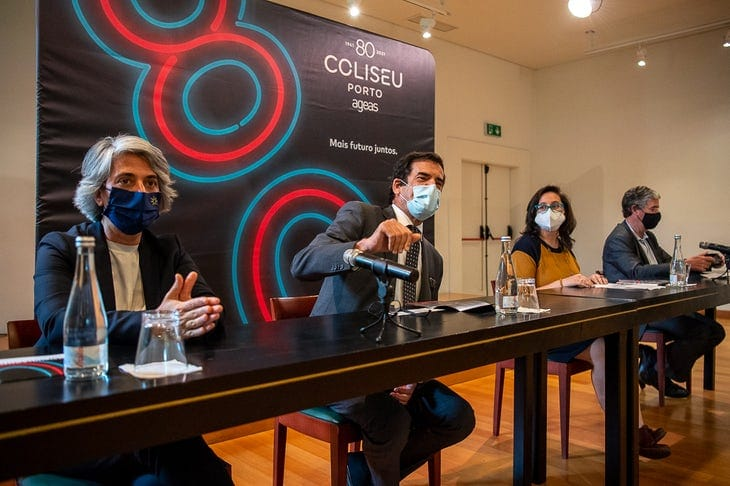Ministra da Cultura abre desconfinamento da cultura no Porto