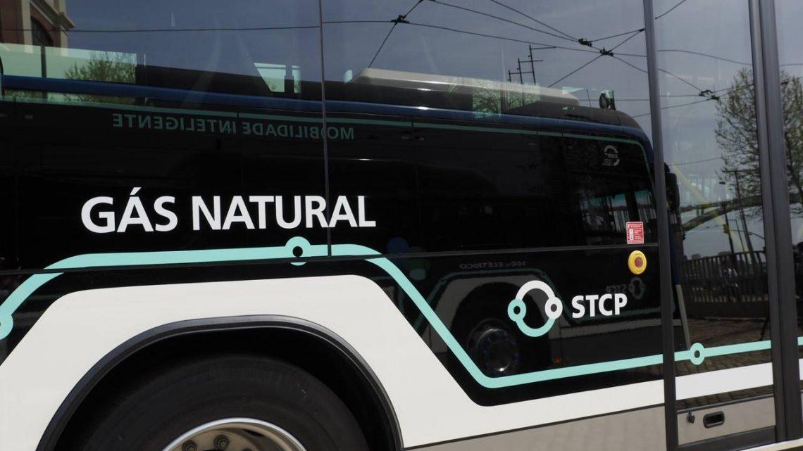 STCP com nova frota de veículos movidos a gás natural