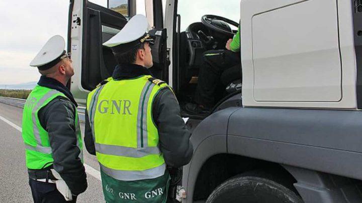 GNR lança operação de fiscalização a veículos pesados a partir desta segunda-feira