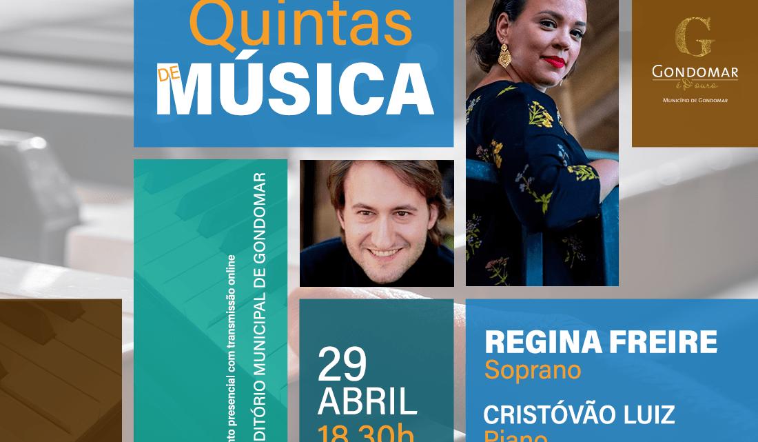 """Auditório Municipal de Gondomar apresenta """"Quintas de Música"""""""