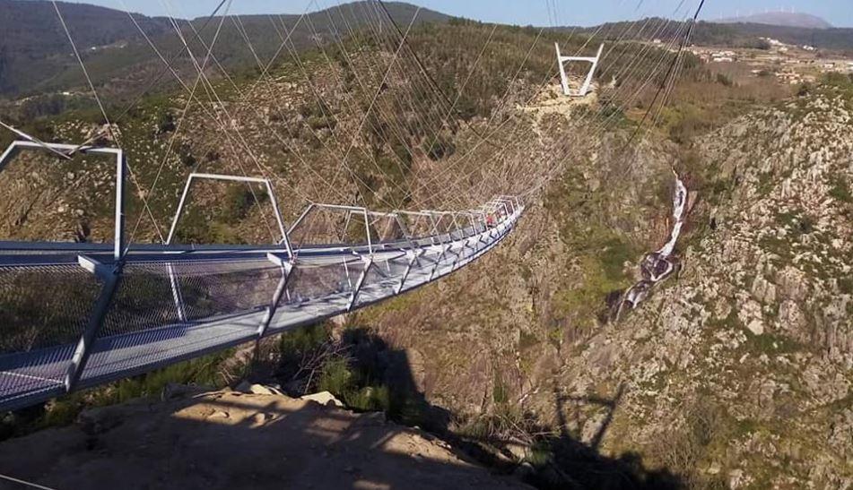 Arouca estreia a maior ponte pendonal suspensa do mundo esta quinta-feira