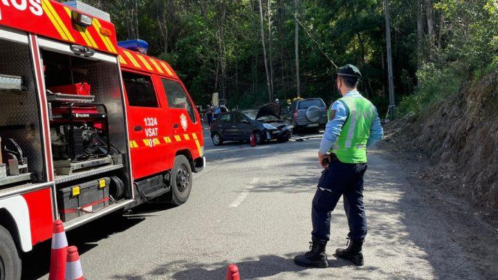 Choque entre dois veículos em Gondomar causa a morte a octogenário
