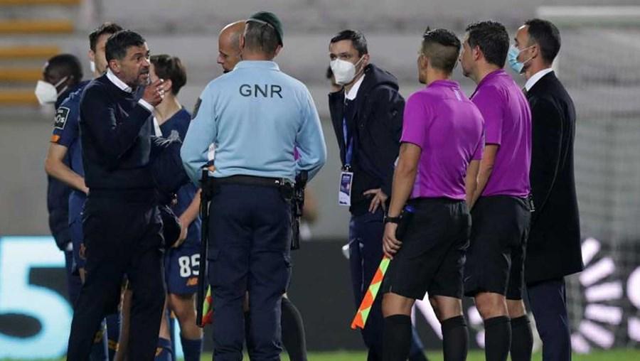 Conselho de Justiça da FPF rejeita recurso do FC Porto e mantem Sérgio Conceição suspenso
