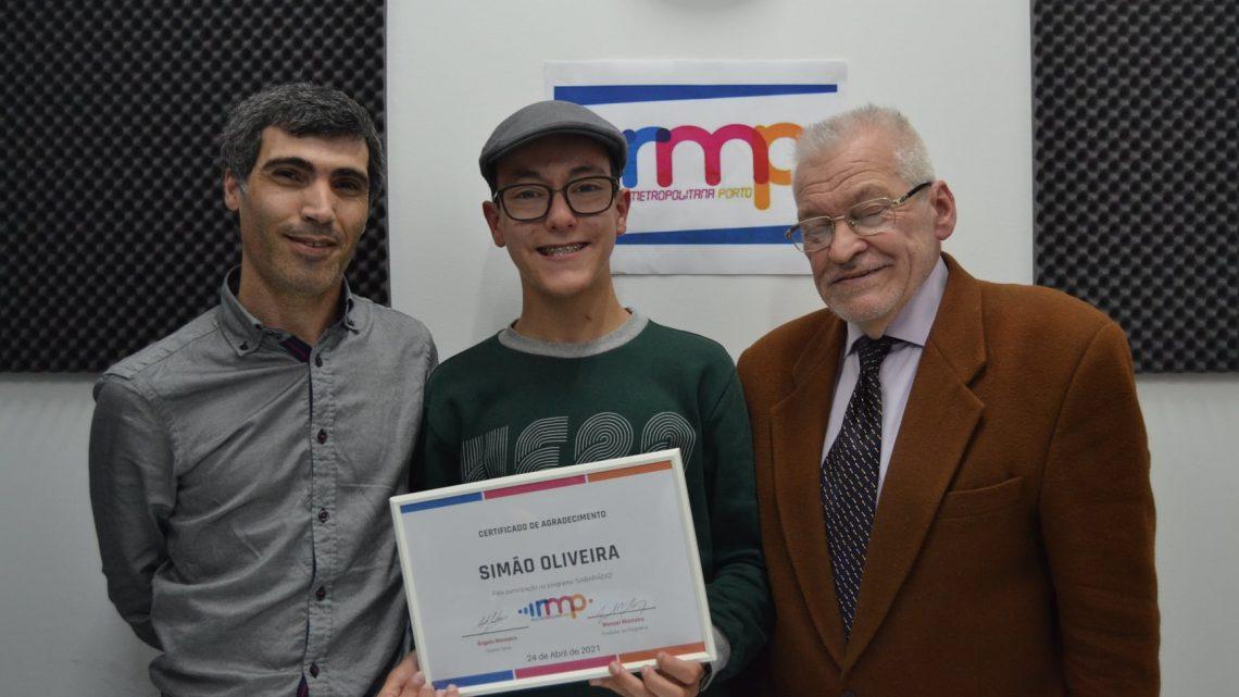"""Vencedor da segunda edição do 'The Voice Kids"""" esteve em estúdio da RMP"""