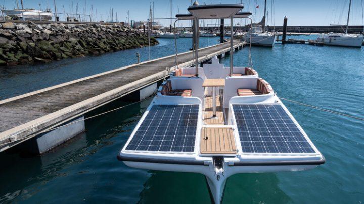 Marinas da Póvoa de Varzim farão passeios turísticos em Barco solar