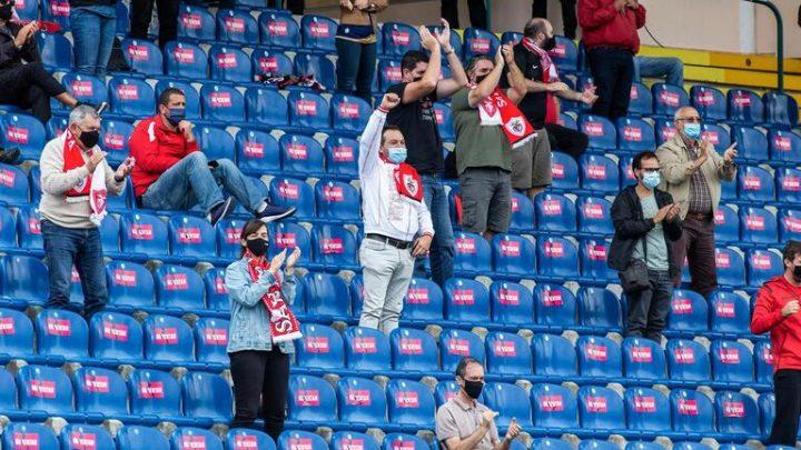 Adeptos de futebol regressam aos estádios na última jornada do campeonato