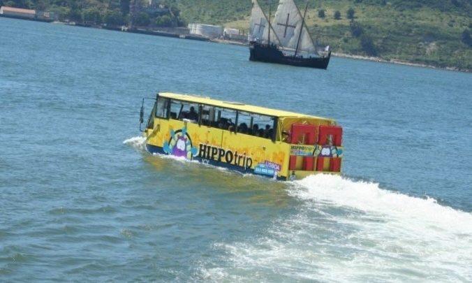 Autocarro anfíbio começa a circular em Gaia até ao final de junho