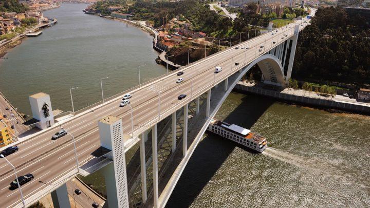 Ponte da Arrábida com trânsito condicionado este fim de semana