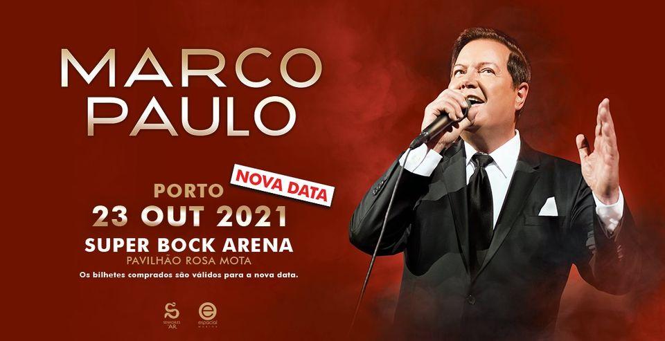 Super Bock Arena receberá Marco Paulo a 23 de outubro