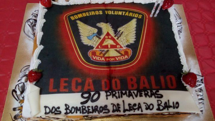 Bombeiros Voluntários de Leça do Balio comemoram 90 anos de vida