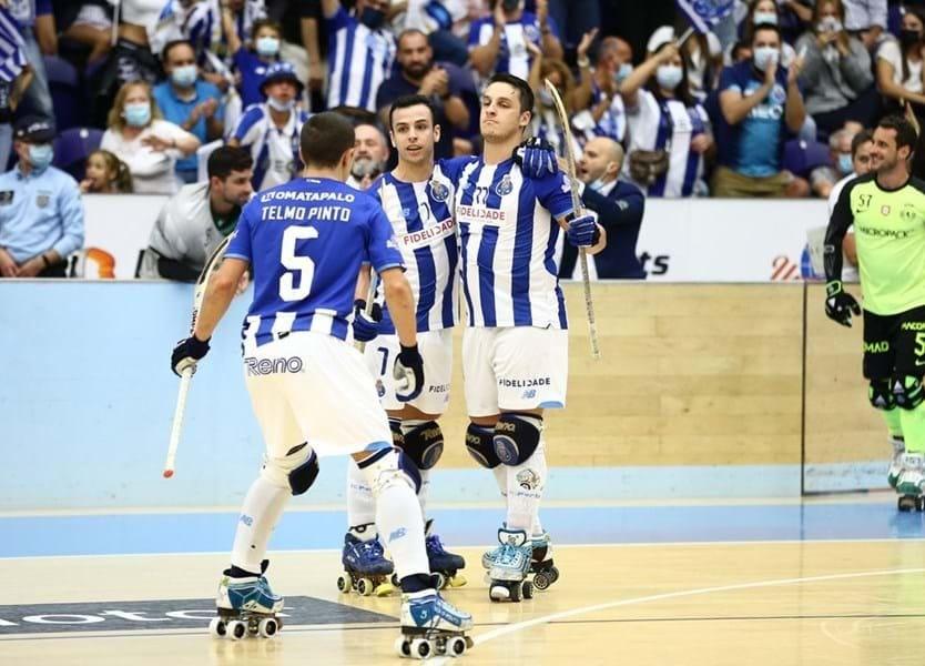 HÓQUEI EM PATINS: FC Porto vence clássico com Sporting e lidera isolado o campeonato