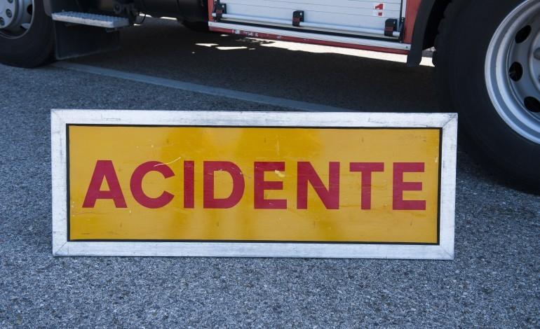 Acidente rodoviário na EN 108 em Gondomar causa um ferido grave