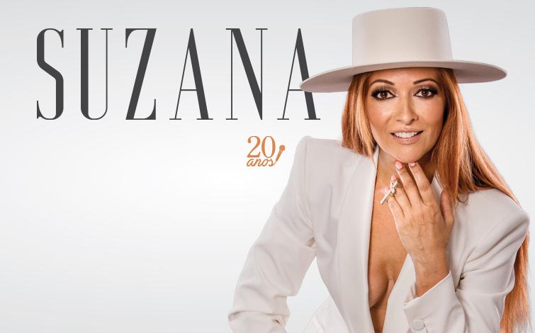 Suzana em concerto no Coliseu do Porto  para comemorar 20 anos de carreira a solo