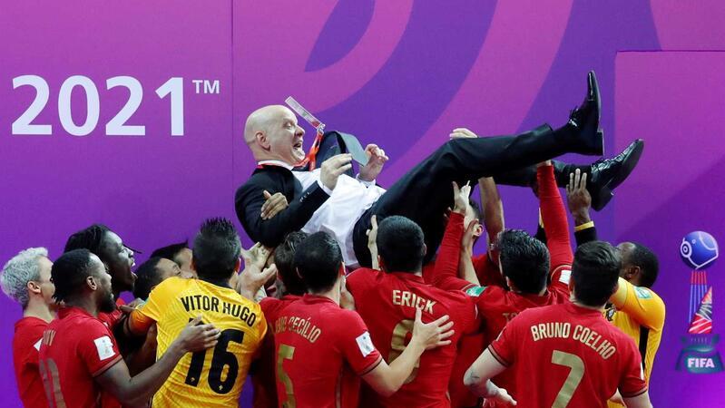 Portugal é Campeão do Mundo de Futsal