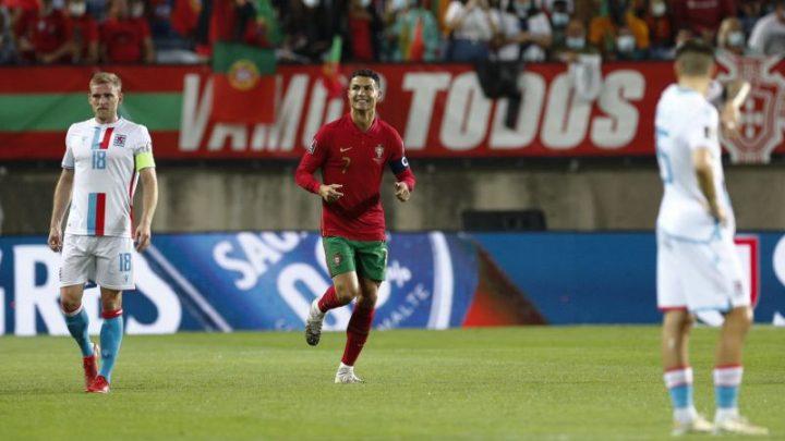 Futebol: Portugal vence Luxemburgo e garante play-off para Mundial no Qatar